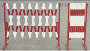 Foldable, portable light-weight fences